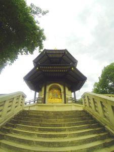 Peace Pagoda By Battersea Park.