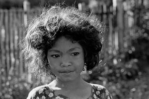 Young Village Girl, 1973