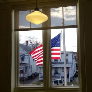 split flag - Saugerties Public Library