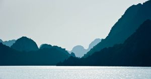 Limestone Islands of Halong Bay