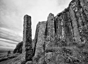 Stone Hedge Piles