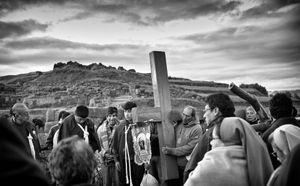 Easter Sunrise Procession, Cusco