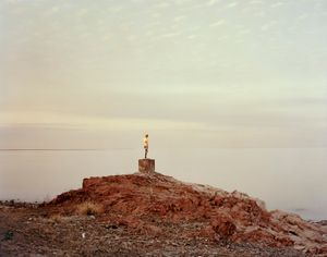 Priozersk XIV (I was told she once held an oar), Kazakhstan, 2011 © Nadav Kander, courtesy of Flowers Gallery