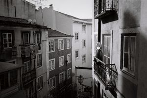reflections of Lisbon. Oct 2016, 35mm film.