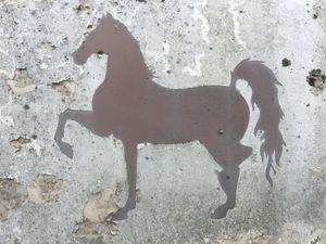 side of abandoned horse box