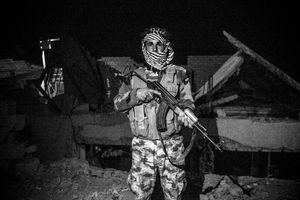 night patrol in Bashiqa