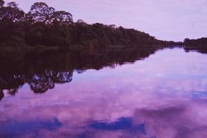 Rio Napo. Amazonas boliviano.  Bolivia