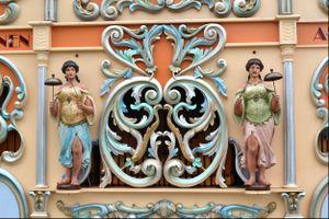 Detail, Street Organ, Delft, Netherlands, 2015