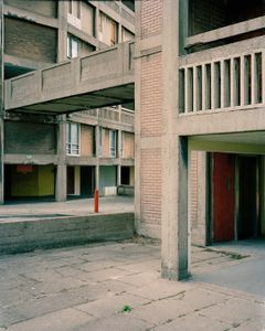 Park Hill Flats Sheffield 2010. © Richard Chivers