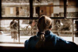 School Window   © Seán Duggan