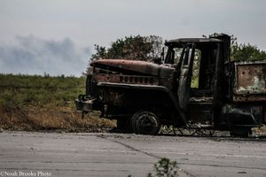 Destroyed Truck
