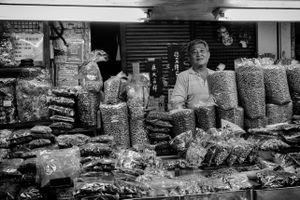 Snacks seller in Taiwan