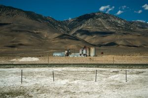 Pittsburgh Plate Glass Chemical Plant, Owens Lake, CA