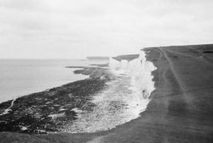White cliff
