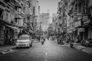 Start trafic jam in Saigon