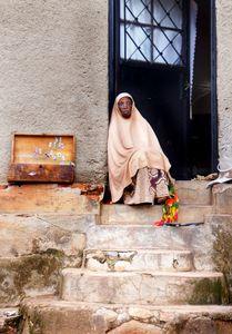 Elder lady of Nyamirambo