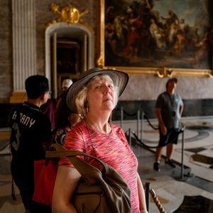Woman in Sanssouci