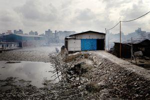 Leather tannery, Dhaka Bangladesh.