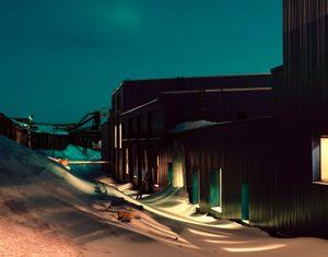 Barentsburg at Night