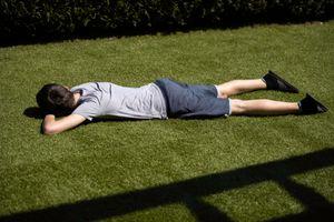 Descanso en el jardín