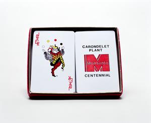 MONSANTO® PLAYING CARDS SET. 2014
