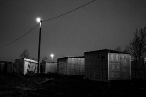 European slum - 'the Jungle' with 6000 people.