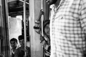 IMPRESSIONS AT THE OLD DELHI RAILWAY STATION 13