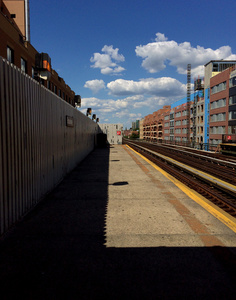 The Light in Astoria's Broadway Station