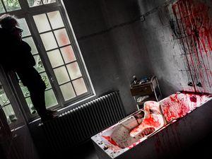 Abandoned psychiatric hospital, Belgium.