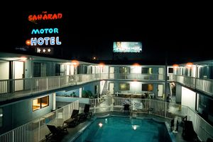Saharan Motor Hotel. West Hollywood, California. 2017.