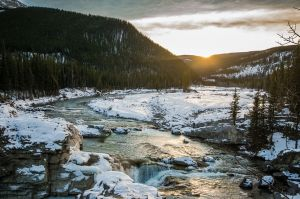 Bragg Creek in the Winter