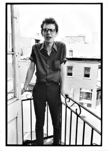 Patrick Hutchinson, Musician, Pine Avenue, Montreal, 1981