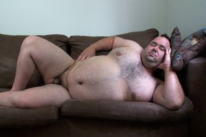 Anthony Reclining on his Couch