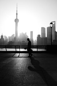 Silhouettes of the Bund