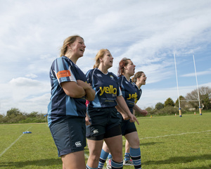Team Players. Topsham ladies Rugby Club. Match against Newton Abbot Ladies Rugby Team