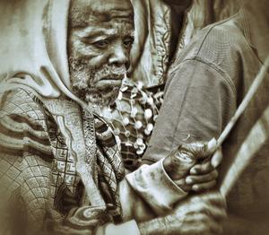 Benin Voodoo Worshipper
