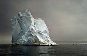 Stranded Iceberg, Cape Bird © Camille Seaman