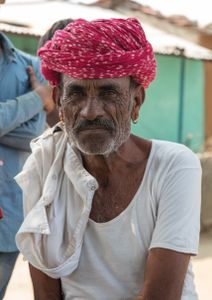 Gesichter Indiens - Pause im Schatten