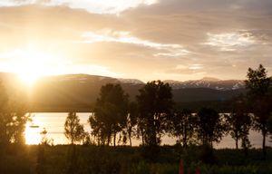 Summer Night in Senja, Norway