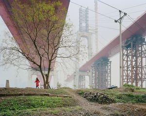 Les franchissements de Egongyan, Chongqing. Chine, Décembre 2017.