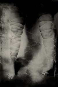 """That Which Was Inanimate. 10""""x14"""" Tintype. From the series """"Soma"""" © Michelle Rogers Pritzl"""