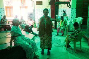Inhabitants at Mother Teresa asylum