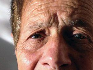 Antonio's life in his eyes