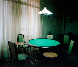 Poker Table, Coffee Shop                     © Eirini Vourloumis