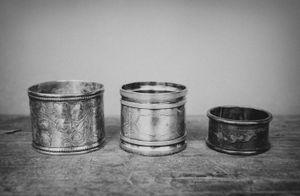"""Napkin Rings"" © Lisa Blair"