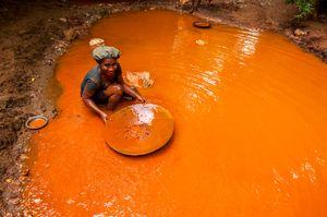 Gold miner girl