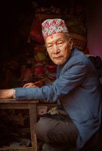 The Writer of Bhaktapur