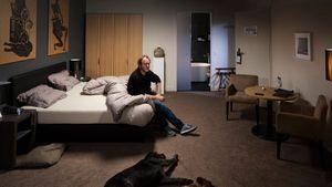 Hotel Room scene 6