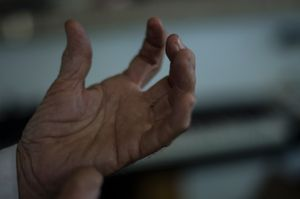 Darren's fingers