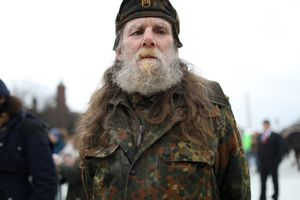 Camouflage at Inauguration 1